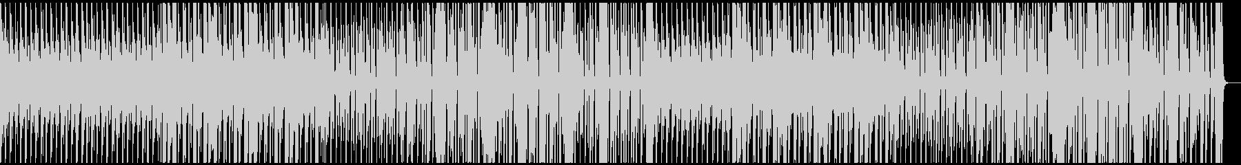 陽気なジプシー風BGMの未再生の波形