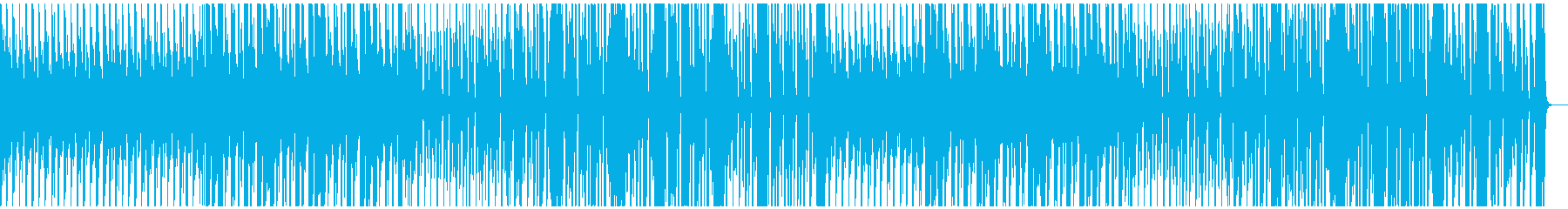 陽気なジプシー風BGMの再生済みの波形