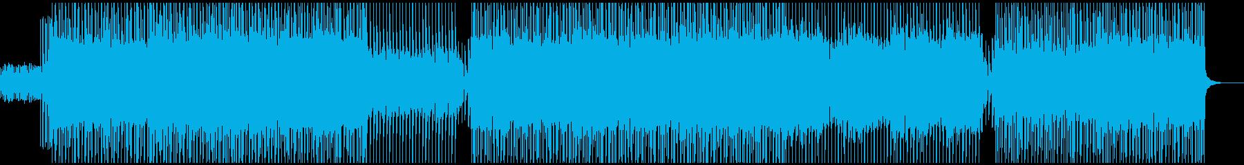 【アラビア風テクノ】軽快な中東テクノ1の再生済みの波形