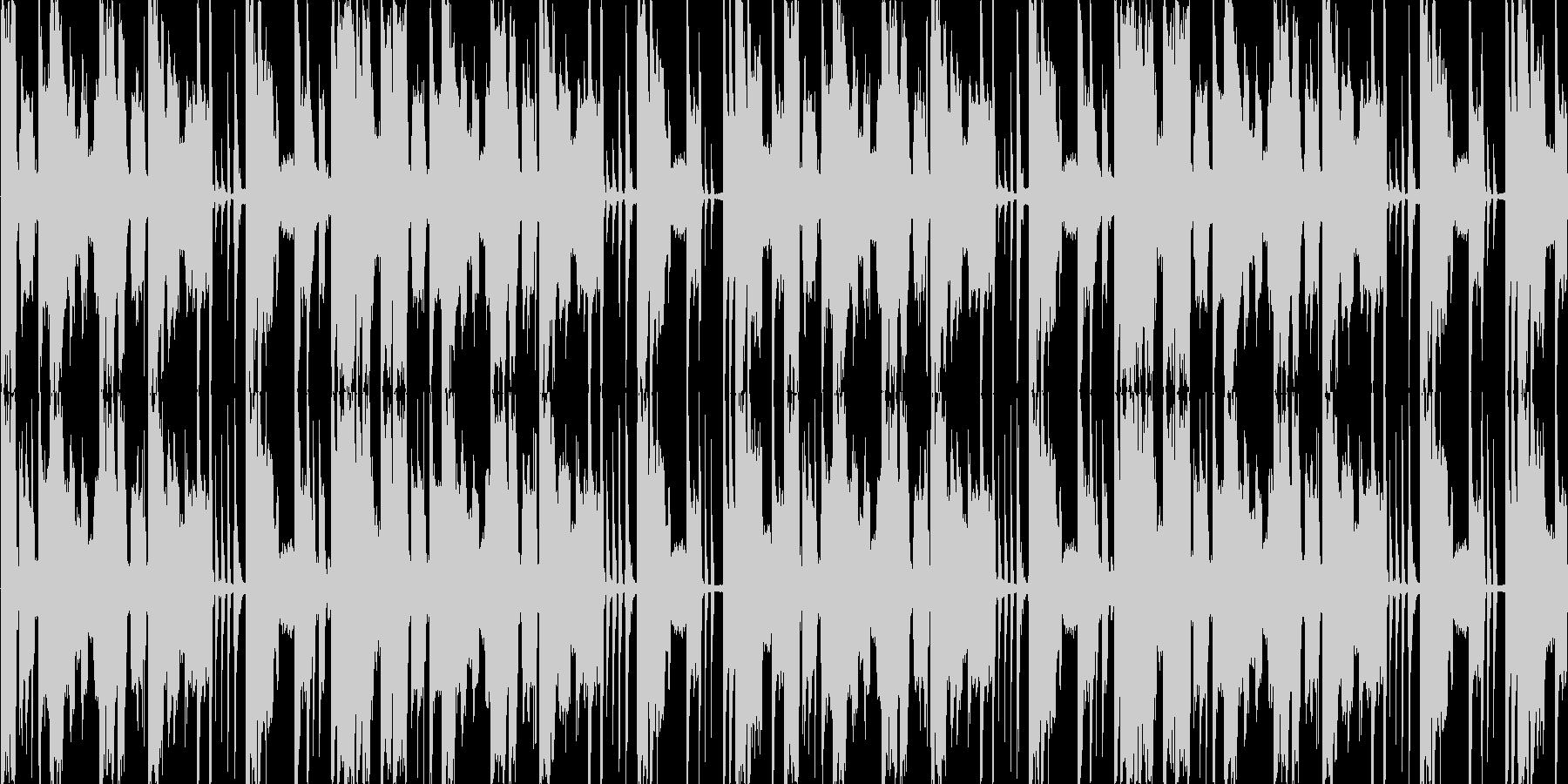 スクリレックス風ジングルの未再生の波形