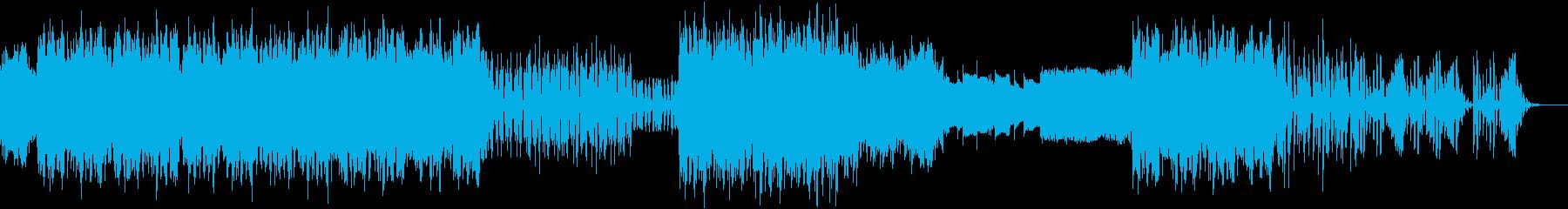原始人の踊りの再生済みの波形