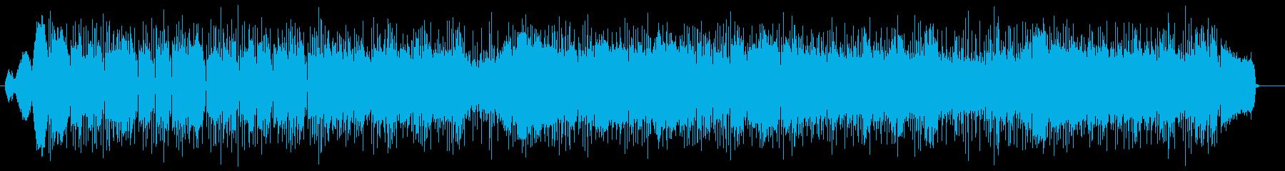 アップテンポで期体感のあるポップスの再生済みの波形