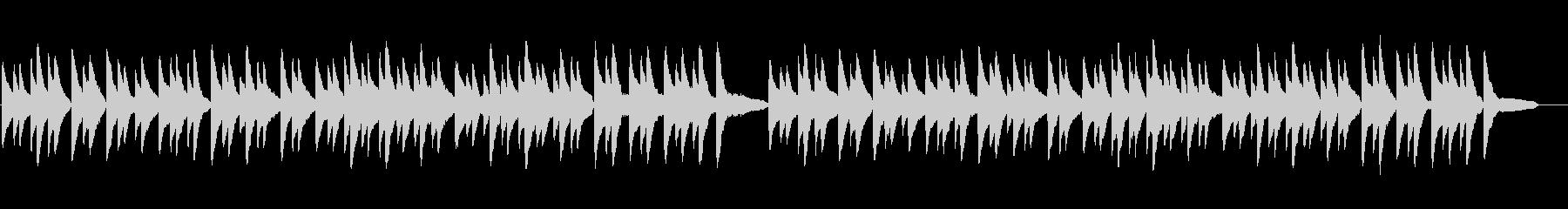 環境音楽風あんたがたどこさ(地方版)の未再生の波形