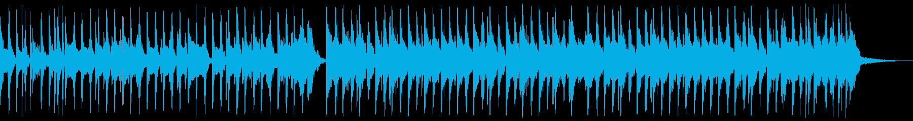 おしゃれなエレクトロスウィング01bの再生済みの波形
