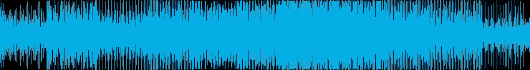 雄大で近未来的なプログレッシブハウスの再生済みの波形