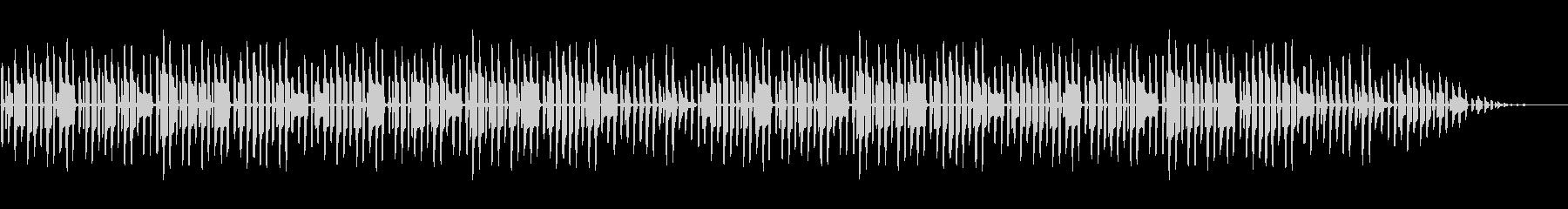 童謡「こいのぼり」脱力系アレンジの未再生の波形