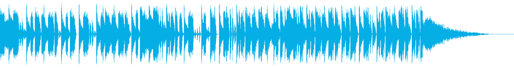 Tonal FX、140 BPMの再生済みの波形