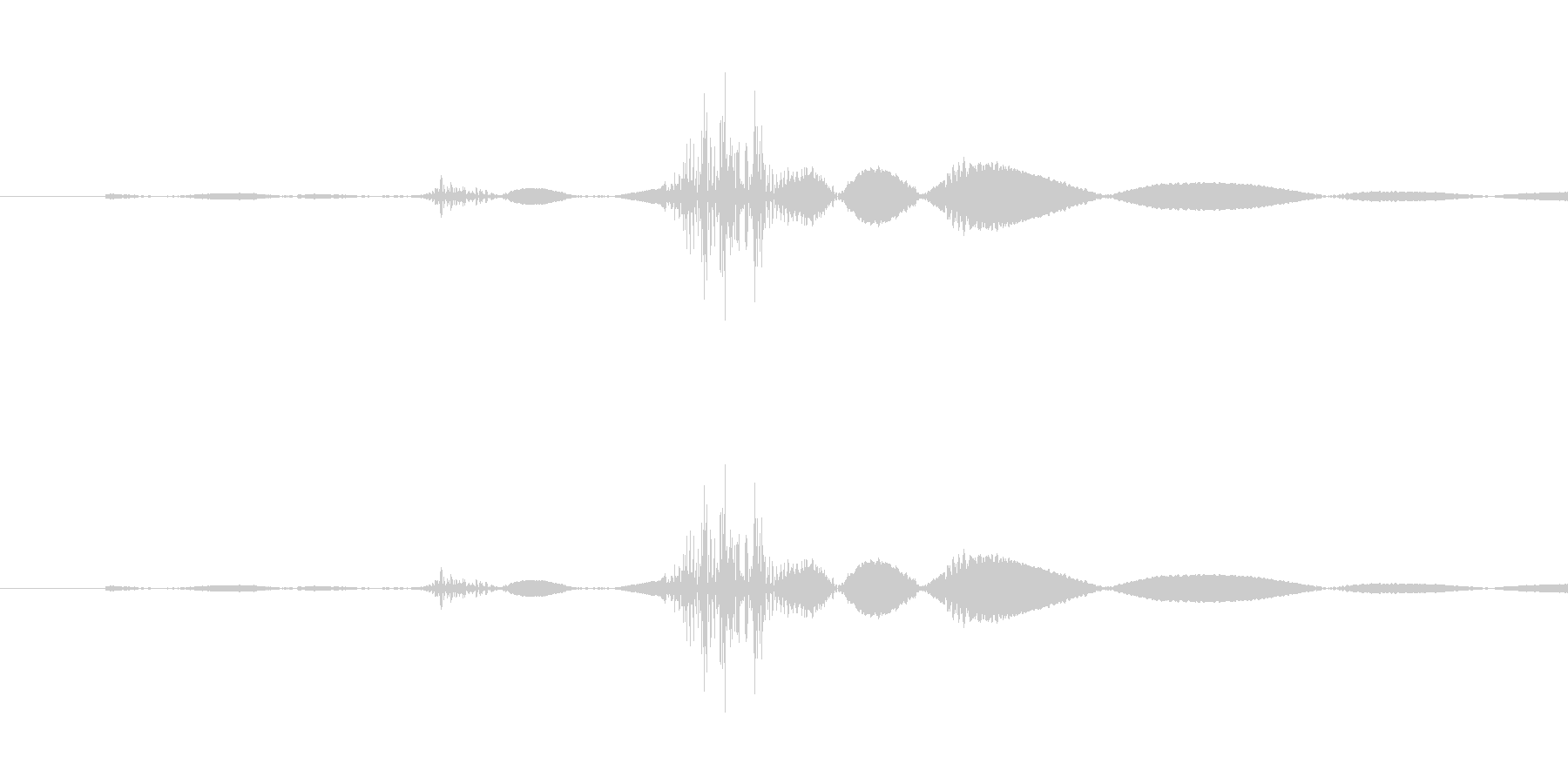 スイッチ・着火の未再生の波形