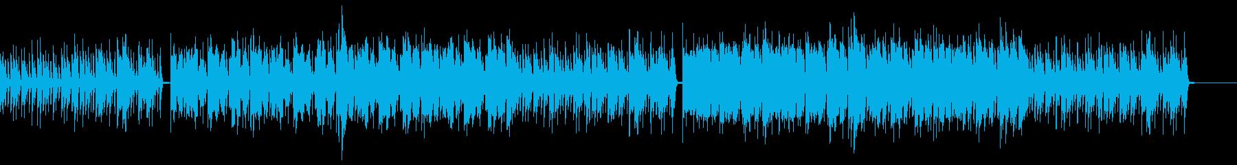 クールなダブステップの再生済みの波形