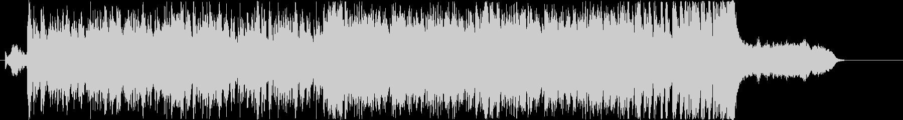 オーケストラ、民族楽器を使用したBGMの未再生の波形