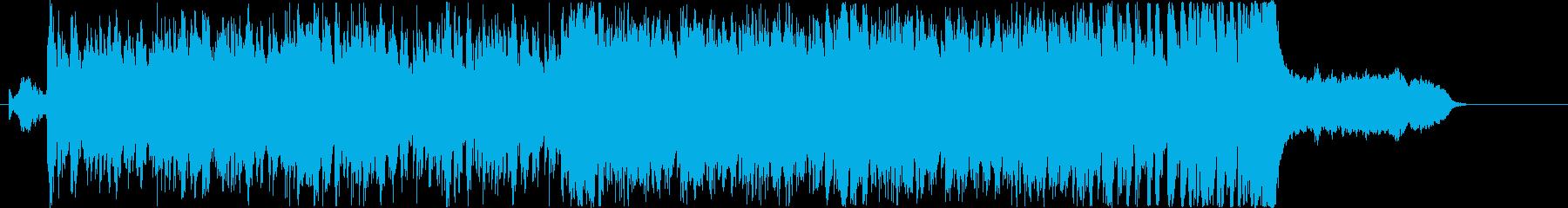 オーケストラ、民族楽器を使用したBGMの再生済みの波形