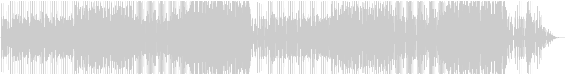 Halloween-like songs with a suspicious atmosphere's unreproduced waveform