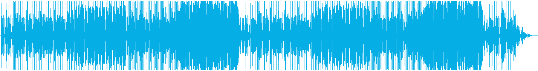 Halloween-like songs with a suspicious atmosphere's reproduced waveform