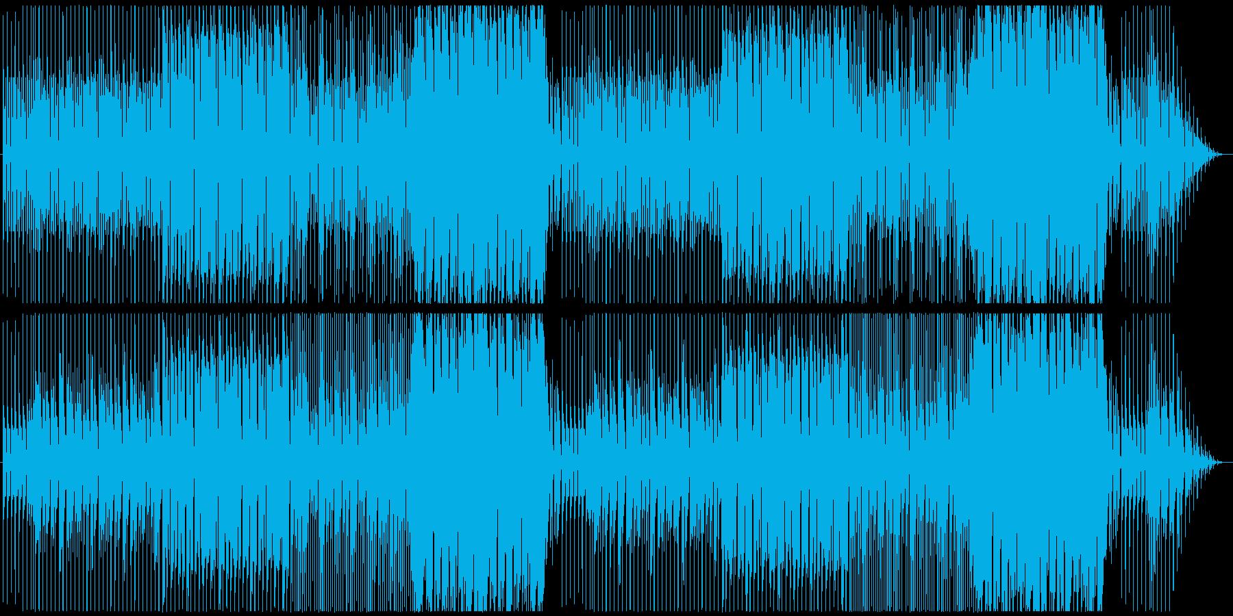 怪しい雰囲気のハロウィンチックな曲の再生済みの波形