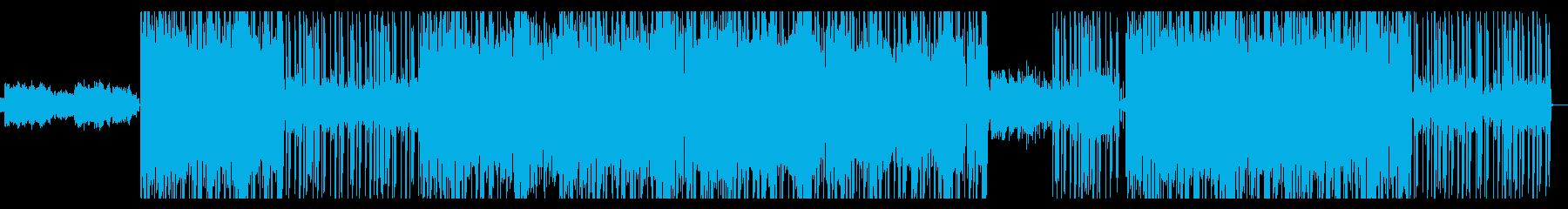 ほのぼのギターLOFIチル・ヒップホップの再生済みの波形