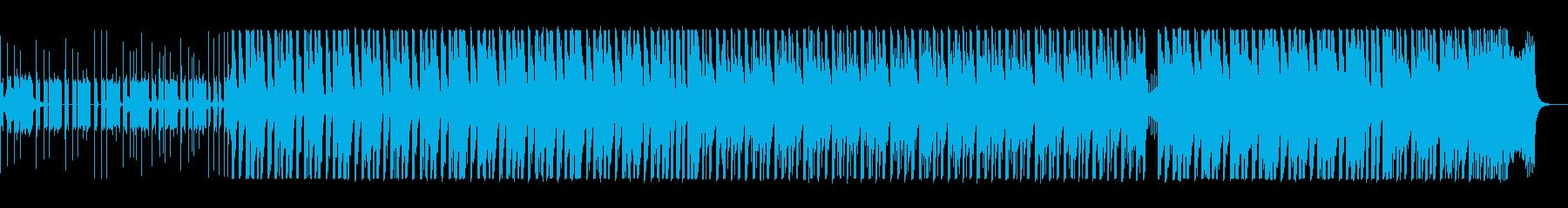 軽やかなエレクトロポップスの再生済みの波形