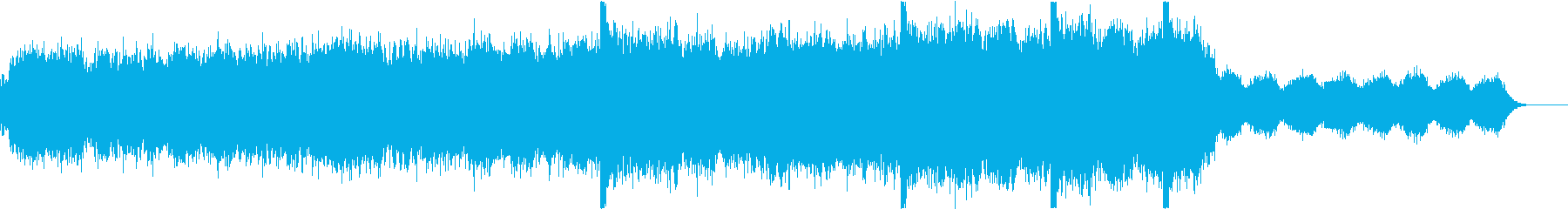 宇宙的壮大なシンセサウンドですの再生済みの波形