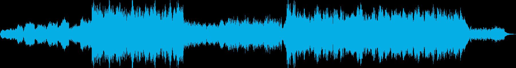 オーケストラバラードの再生済みの波形