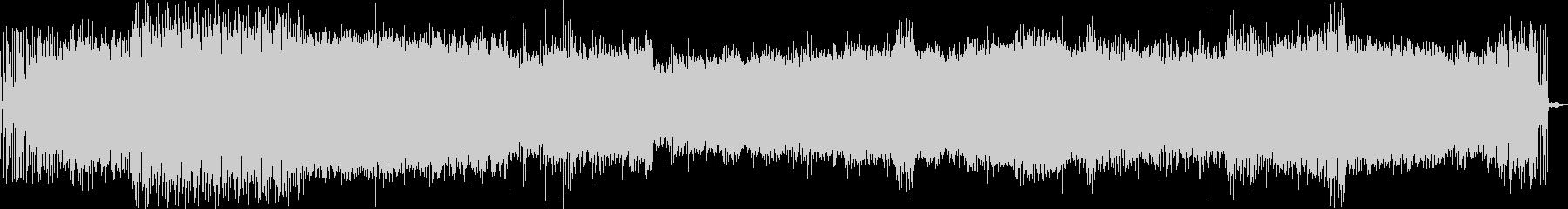 EDM グリッチサウンド の未再生の波形