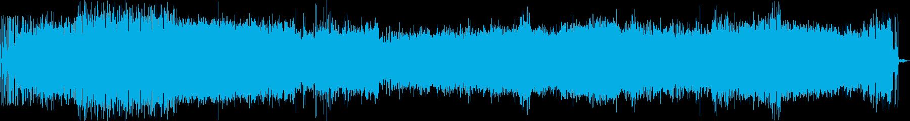EDM グリッチサウンド の再生済みの波形