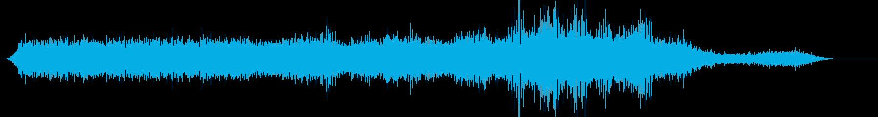 SH-3Hシーキング:アイドル、航...の再生済みの波形