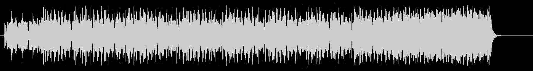 スパニッシュギターのマイナー風ポップの未再生の波形