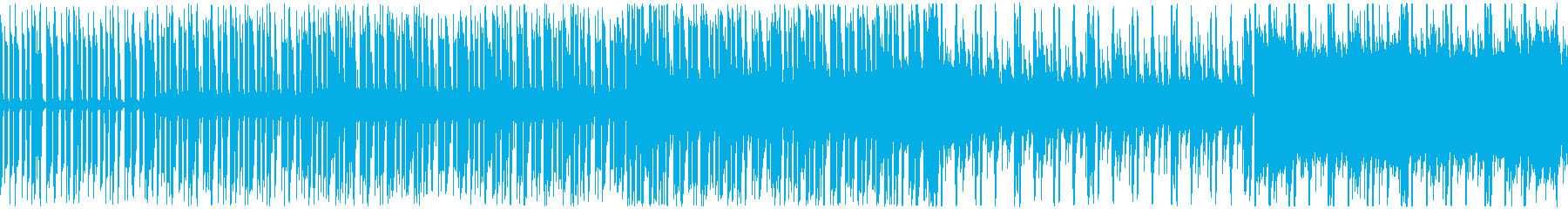 交通情報や天気予報にループできるBGMの再生済みの波形