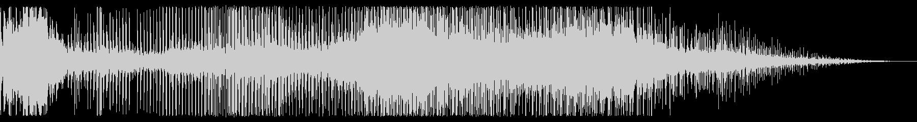 クリーク&ベル、データ処理、リング...の未再生の波形