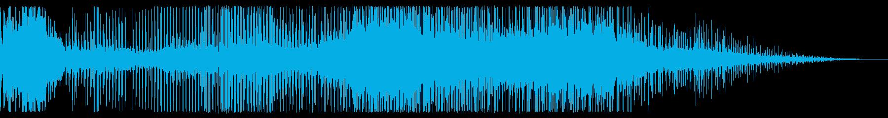 クリーク&ベル、データ処理、リング...の再生済みの波形