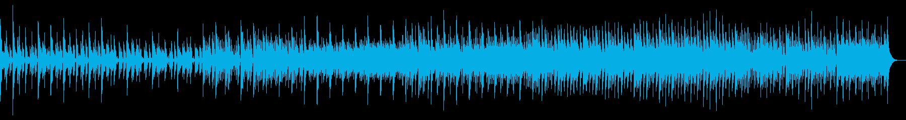 ピアノとギターの哀愁フォークの再生済みの波形