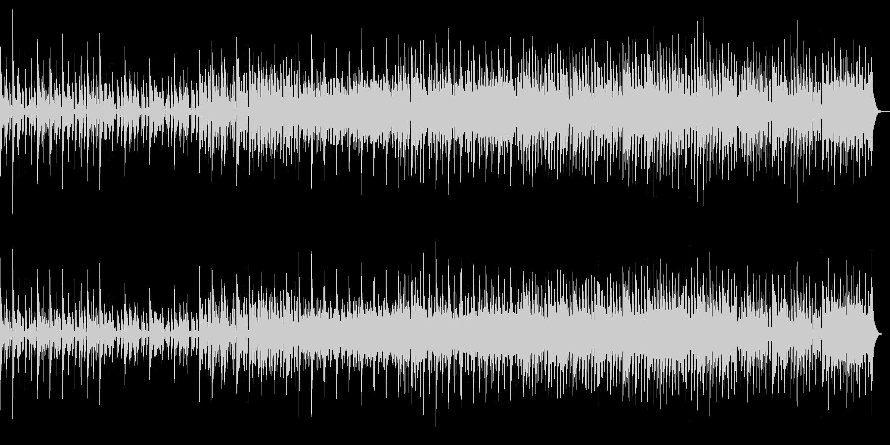 ピアノとギターの哀愁フォークの未再生の波形