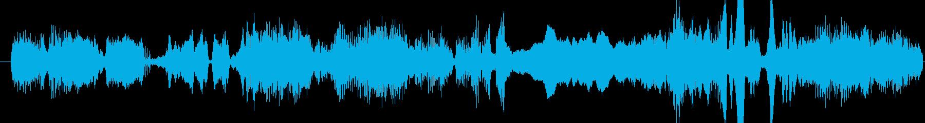 モンスター グリッチグロール02の再生済みの波形