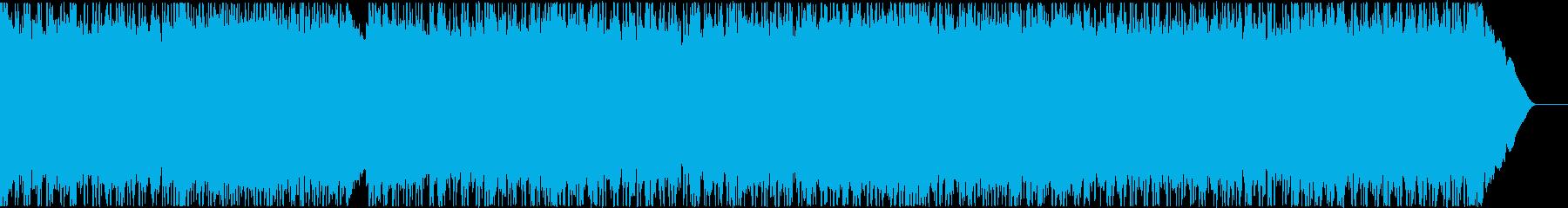 90年代風ギターロックの再生済みの波形
