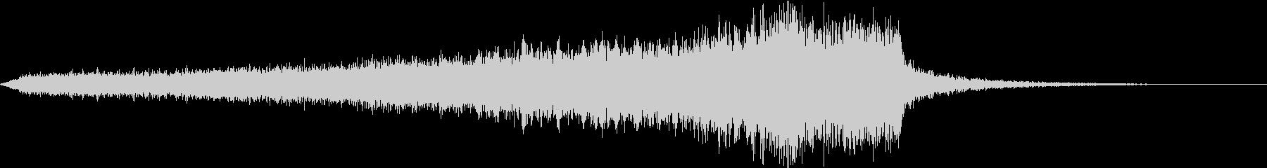 CINEMATIC RISER_27の未再生の波形