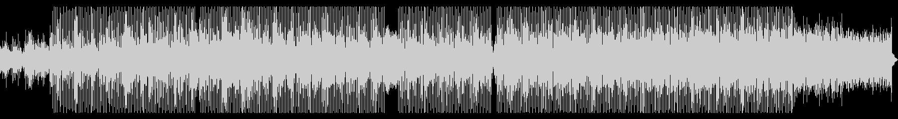 サックスソロが印象的な淡々としたポップスの未再生の波形