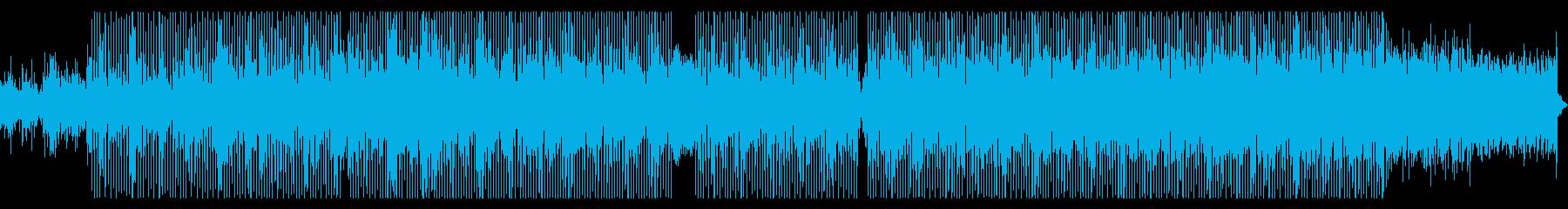 サックスソロが印象的な淡々としたポップスの再生済みの波形