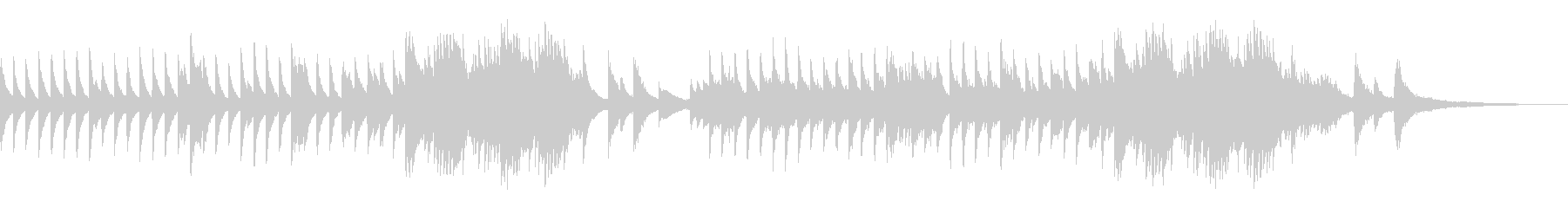 KANTピアノバラード200603の未再生の波形