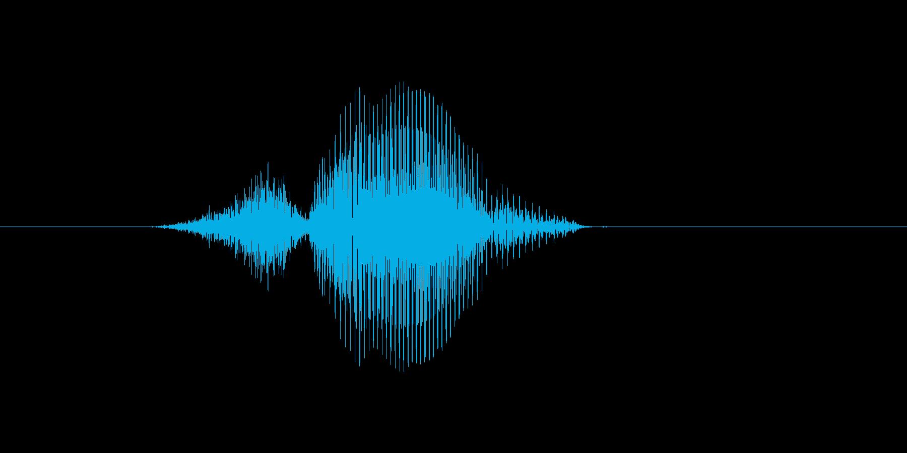 3(数字、男の子、少年)の再生済みの波形