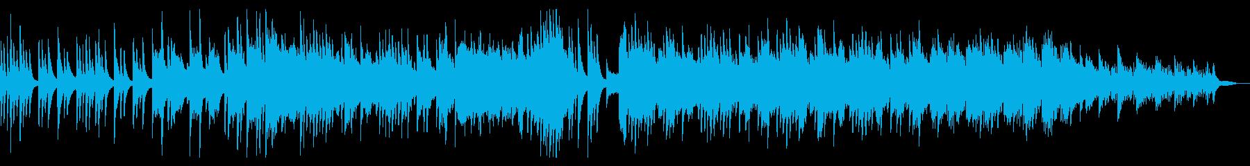 夏の花火や祭りの映像に合うしっとりした曲の再生済みの波形