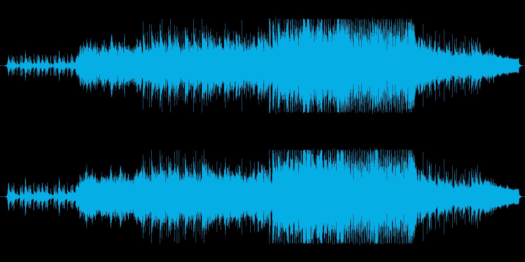 爽やかファンタジーな管楽器シンセサウンドの再生済みの波形