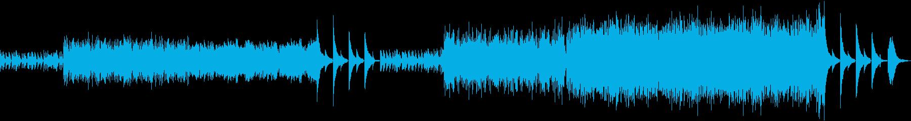 大サビのピアノメロなしの再生済みの波形