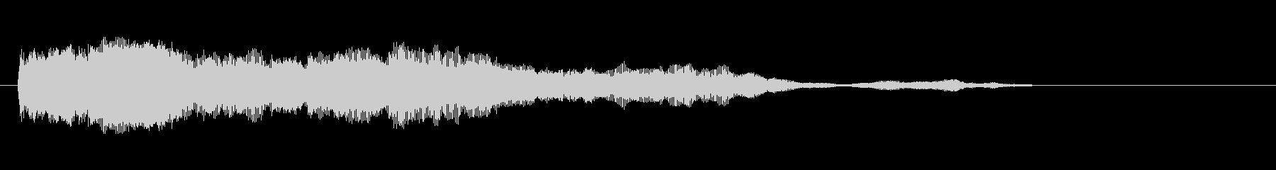 素材 シンセチャープディープ03の未再生の波形