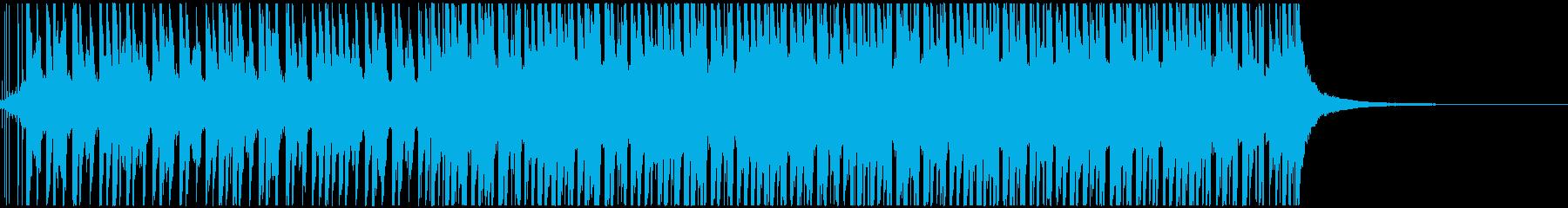 トロピカルで明るいハウス(ショート)の再生済みの波形