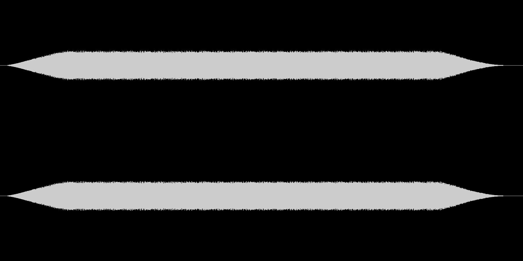 メカ動作・レーザーメス#1の未再生の波形