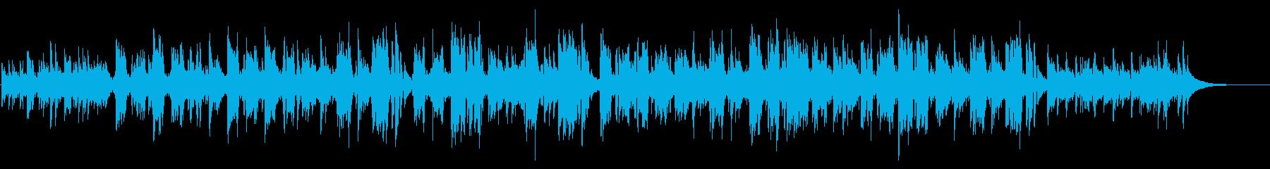 曲の作成に関するすべてのアコーステ...の再生済みの波形