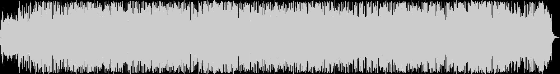 典型的なケルト音楽の未再生の波形