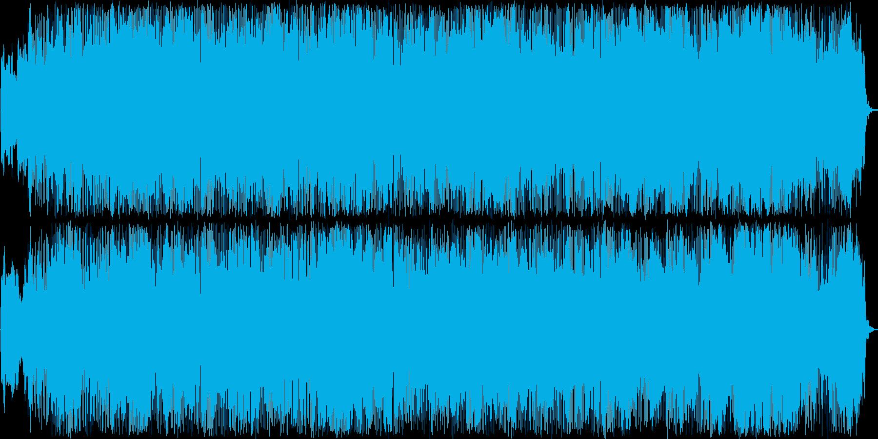 典型的なケルト音楽の再生済みの波形