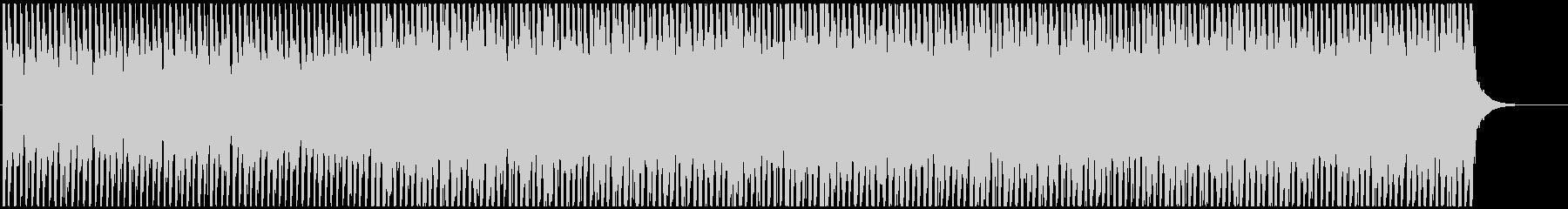 エレキギターハーモニクスが爽やかなポップの未再生の波形