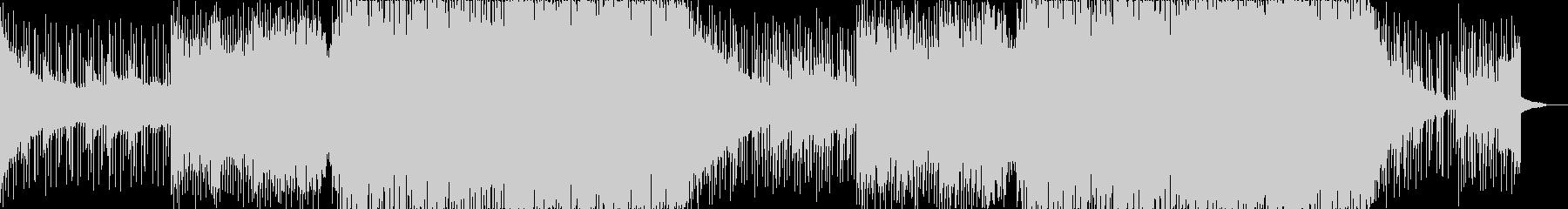 ピアノのとシンセサイザーの切なめEDMの未再生の波形