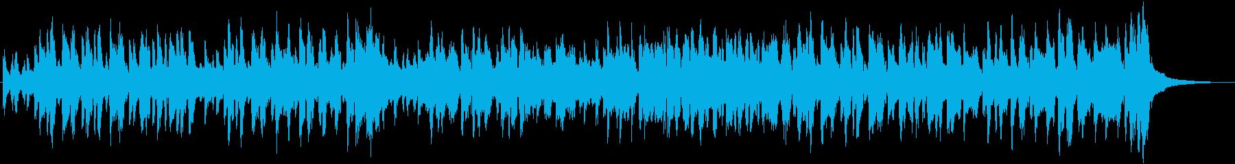 なめこをテーマにした楽曲の再生済みの波形